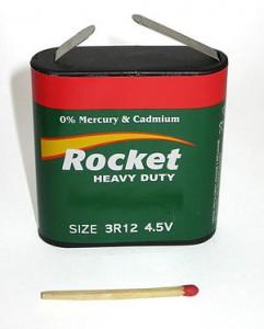 Батарейка размера 3R12