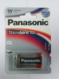 Батарейка Panasonic 9V (Крона)